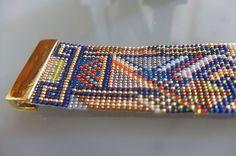 Bracelet perles style art deco