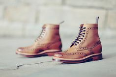 Grenson Fred Brogue Derby Boots