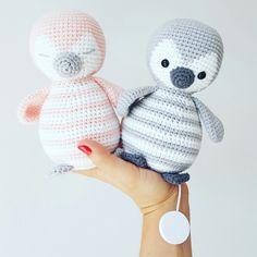 Amalou.Designs Anleitung Pattern Amigurumi Crochet Penguin Pinguin