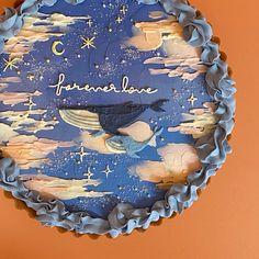 Pretty Birthday Cakes, Pretty Cakes, Beautiful Cakes, Amazing Cakes, Bts Cake, Simple Cake Designs, Pastel Cakes, Cute Baking, Cute Desserts