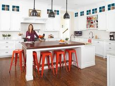 Who wouldn't want a kitchen like this? See how one family put it together http://www.hgtv.com/kitchens/9-simple-kitchen-upgrades/pictures/index.html#