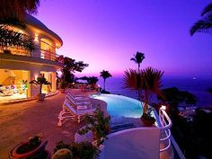 Puerto Vallarta Villa Rental: Luxury 7200 S.f. Villa With Spectacular Views Of The Bay, City And Beaches | HomeAway Luxury Rentals