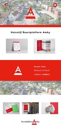 Brand Identity - Branding - Huisstijl voor Buurtplatform Amby door Studio Sowieso Branding, Brand Identity, Studio, Brand Management, Study
