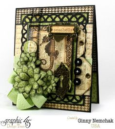 Graphic 45 Botanicabella 12x12 Deluxe Collector's Edition Paper Pad