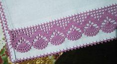 Crochet Boarders, Crochet Edging Patterns, Crochet Lace Edging, Crochet Mandala, Crochet Trim, Filet Crochet, Crochet Stitches, Cross Stitch Patterns, Crochet Towel