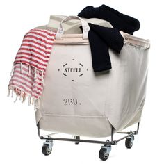 I've been looking for this forever... - Steele Canvas Laundry Cart