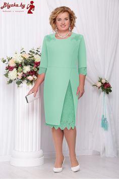 Платье женское Nn-261-4 Mom Dress, Dress Skirt, Plus Size Gowns, Short Dresses, Formal Dresses, Mothers Dresses, Special Occasion Dresses, Green Dress, Dress Patterns