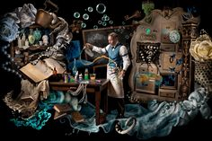Ransom & Mitchell is a still + motion creative team in San Francisco featuring the combined talents of director - photographer Jason Mitchell and set designer - digital artist Stacey Ransom specializing in narrative conceptual photography.