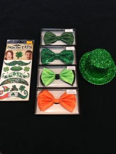 You can style with an easy St. Pat's tattoo, bow tie or mini top hat!