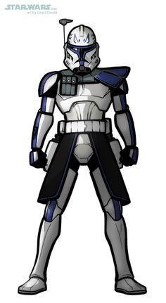 DRAW CAPTAIN REX from THE CLONE WARS by grantgoboom on DeviantArt