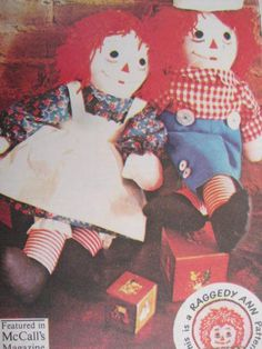 See Sally Sew-Patterns For Less - Raggedy Ann