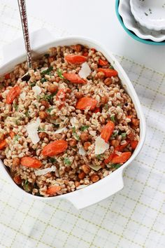 Farro Roasted Carrot