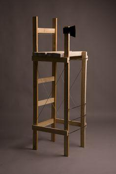 the carpenter's chair _ M 1:1 model