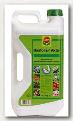 Basfoliar Aktiv, υγρό οργανο-ανόργανο ΝΡΚ λίπασμα που περιέχει εκχυλίσματα φυκιών Echlonia maxima και ιχνοστοιχεία σε χηλική EDTA μορφή. Πλούσιο σε φυτικές ορμόνες, αμινοξέα και βιταμίνες. Σύνθεση: 3,0% συνολικό άζωτο (ουρικής μορφή), 27,0% Ρ2Ο5, 18,0% Κ2Ο, 0,01% Β, 0,02% Cu*, 0,02% Fe*, 0,01% Mn*, 0,001% Mo, 0,01% Zn*, 3% οργανική ουσία.  * EDTA χηλική μορφή.  Συσκευασία: δοχείο των 10 λίτρων, χαρτοκιβώτιο 6 Χ 2,5 λίτρων.