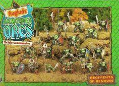 Ryuglud's Armoured Orcs citadel miniatures games workshop oldhammer