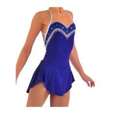 Ice Skating Dress Sleeveless Ice Skate Wear Adult Size Ice Skating Dress Sleeveless Affordable Skating Dress - $170.17