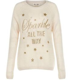 Stone Sparkle All The Way Christmas Jumper