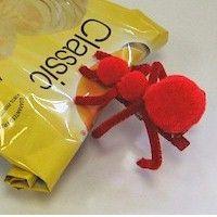Pompom Ant Clip Craft for Kids