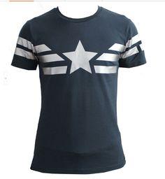 Captain America  T-shirt  B
