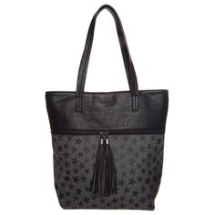Shopper black/grey