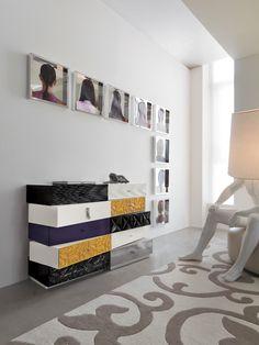 Mobili componibili per la camera da letto - Cassettiera modulare di ...