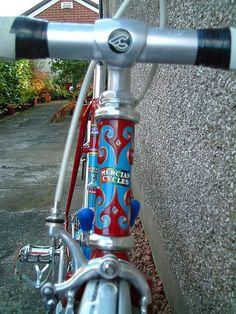 Mercian Vincitore lugwork by Paris-Roubaix, via Flickr < 200 https://de.pinterest.com/merciancycles/cool-mercian-frames-and-bikes/