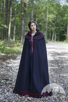 """Medieval Fantasy Cloak """"Forget Me Not"""""""
