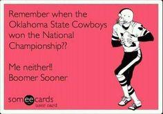 Oklahoma Sooners!!!!!!