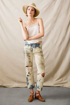 Vintage Bleached Jean #urbanoutfitters