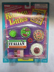 Kitchen Littles Italian Food Packs