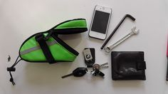 Bike Seat Bag, Saddle Bags, Sunglasses Case, Bicycle, Cool Stuff, Amazon, Green, Cool Things, Amazons