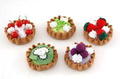Tortinhas de feltro - Portal de Artesanato - O melhor site de artesanato com passo a passo gratuito