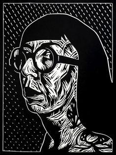 Woodcuts ~ Alex Binnie