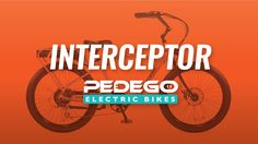 The Pedego Interceptor is the electric bike that has it all -- combining beach cruiser comfort and style with breathtaking performance and user friendly features.