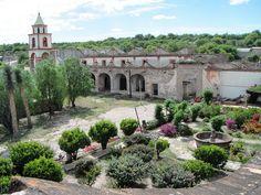 Ex-Hacienda Peotillos, San Luis Potosí, México.