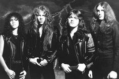 Kirk, James, Lars, Cliff. The original Metallica