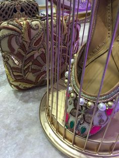 The Maharani Jutti £40 Www.tyche-London.com Punjabi Jutti • Punjabi • Jutti • Indian • Fashion • Bollywood • Wedding • Accessories • Pakistani • Mojeh • Khussas • Bridal • Jewellery •