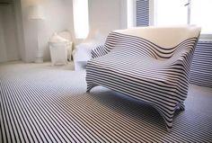 Wohnung Innenraum Des Modedesigners