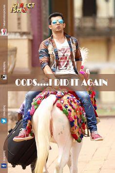 OOPS....I DID IT AGAIN..!!  Team Direct Ishq #Pradeepksharma #RajnieshDuggall #RajivsRuia #ArjunBijlani #NidhiSubbaiah #BabaMotionPictures Pvt Ltd #bollywood #Instabollywood #bollywoodfilm #bollywoodmovie #bollywoodactresss #Bollywoodstar #movie2016 #Bollywooddirector #newtrailer