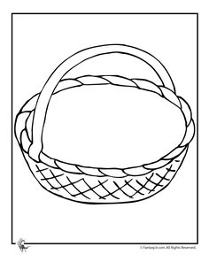 May Day basket printables for kids to color, cut out, and glue together for a fun spring kids activity, plus 6 additional coloring pages. Craft Stick Crafts, Preschool Crafts, Easy Crafts, Autumn Activities, Activities For Kids, Coloring Sheets, Coloring Pages, May Day Baskets, Basket Crafts