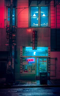 """Taken in Memphis Tennessee. Part of the """"Memphis Noir"""" photography series. Photo by Anthony Presley Cyberpunk Aesthetic, Cyberpunk City, Neon Aesthetic, Night Aesthetic, Neon Lights Photography, Urban Photography, Night Photography, Street Photography, Photography Series"""