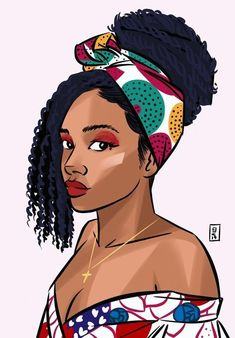 There is still a lot to discover about African beauty🍃🌸 . Black Love Art, Black Girl Art, My Black Is Beautiful, Black Girl Magic, Art Girl, Black Art Painting, Black Artwork, Drawings Of Black Girls, Afrique Art