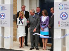 The Prince of Wales opens Fisher House in Birmingham
