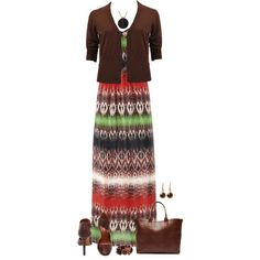 Maxi Dress for Fall, created by daiscat on Polyvore
