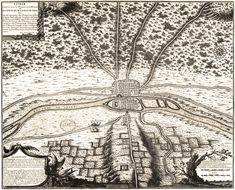 PARIS I Old Maps of Paris - Year 508