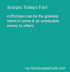 Scorpio Daily Fun Fact