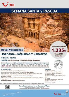 Semana Santa y Pascua-Jordania:Nómadas y Nabateos.Dsde Barcelona 29/3 y 5/4.Precio final dsde 1.235€ ultimo minuto - http://zocotours.com/semana-santa-y-pascua-jordanianomadas-y-nabateos-dsde-barcelona-293-y-54-precio-final-dsde-1-235e-ultimo-minuto-2/
