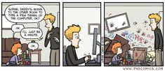 PHD Comics: Just a minute