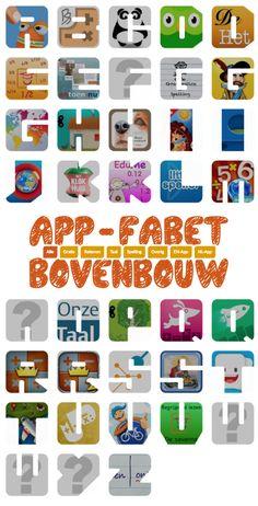 Bekijk het overzicht op www.appfabet.nl
