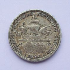 1893 Columbian Expo World Fair Silver Coin US by greenlandturtle, $22.00